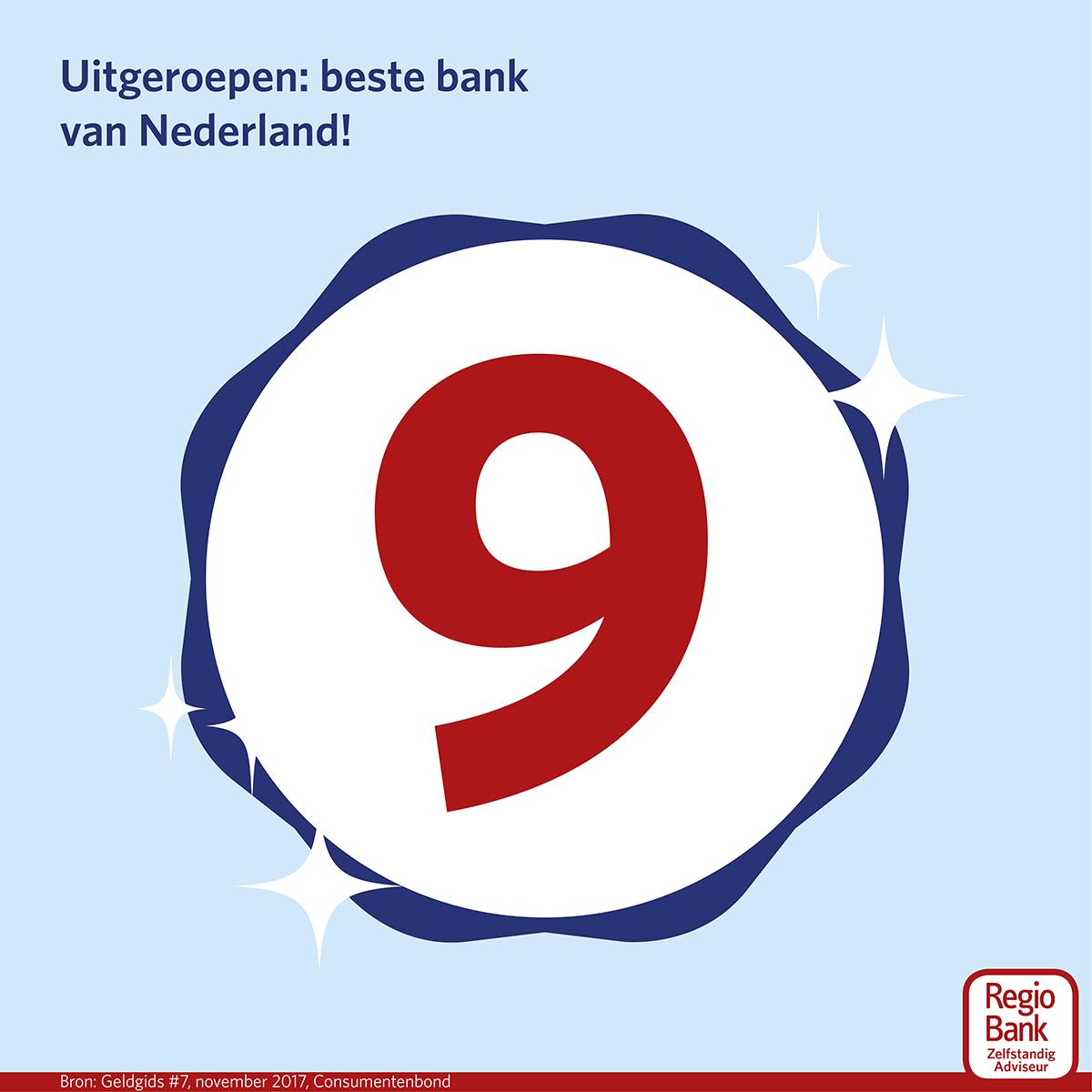 beste bank van Nederland